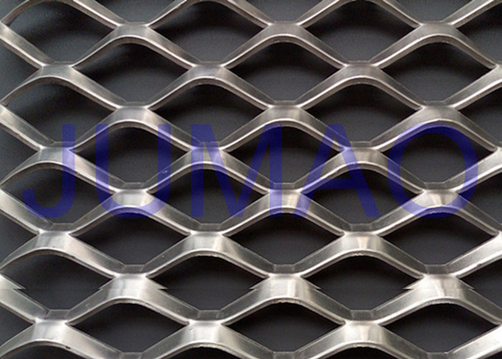 Eye Catching Architectural Expanded Metal As Building Covering / Fencing